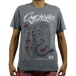 Camisa Tiger Silk Cinza