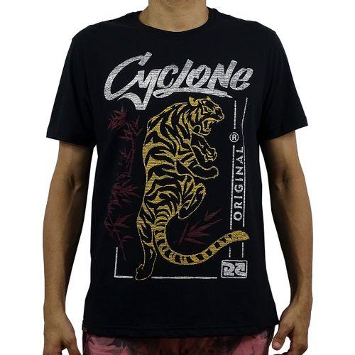 Camisa Tiger Silk Preta