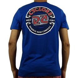 Costas Camisa Bolt Silk Azul