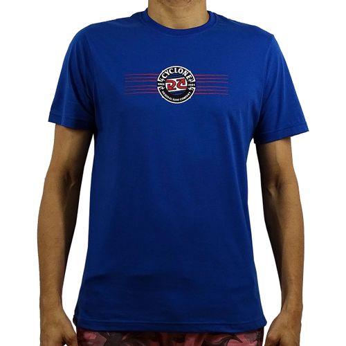 Camisa Bolt Silk Azul