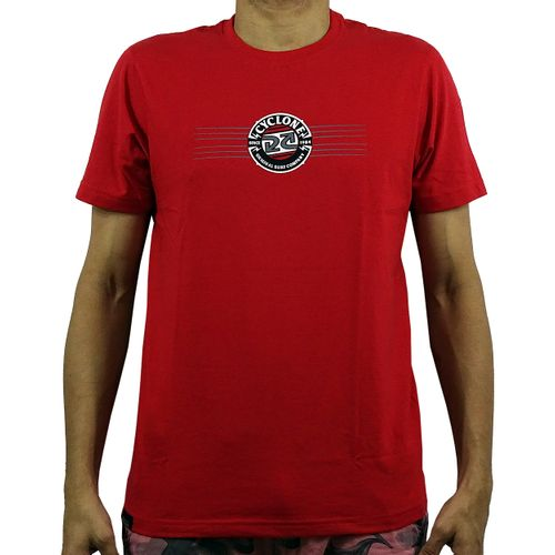 Camisa Bolt Silk Vermelha