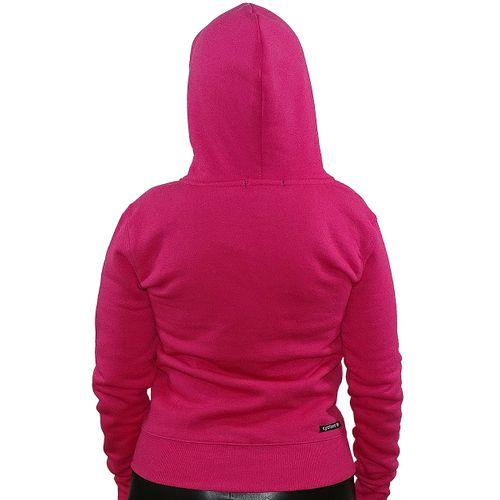 Costas Casaco Feminino Canguru Pink
