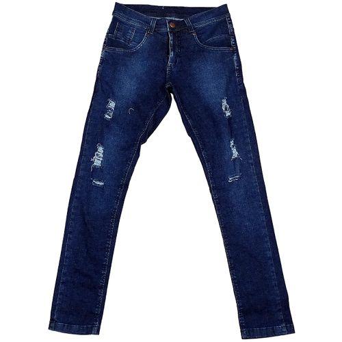 Calça Jeans Skinny Destroyer