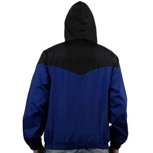 Costas Casaco Windbreak Bicolor Azul