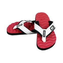 Detalhes Sandália Deck Wave Vermelha