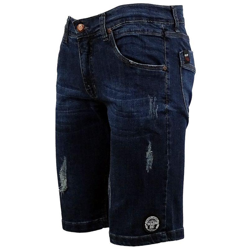Bermuda Jeans Stretch Spit
