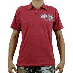 Camisa Pólo New King Metal Vermelha