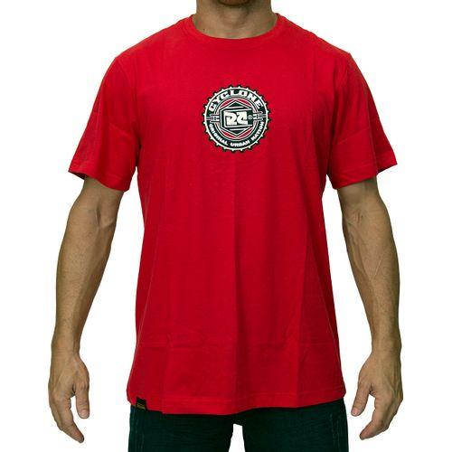 Camisa Catraca Metal vermelha
