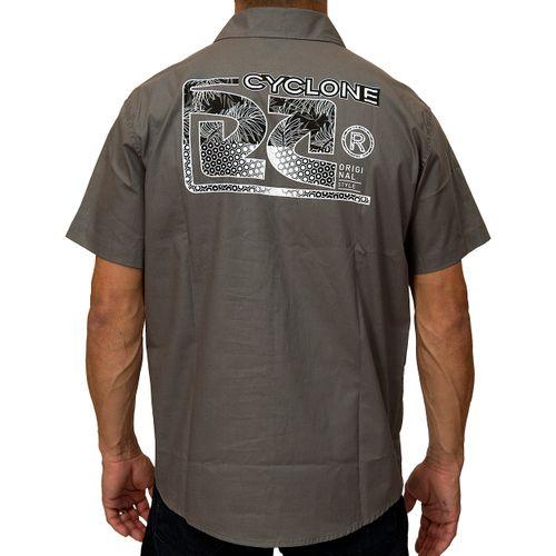 Costas Camisa Tecido Eco