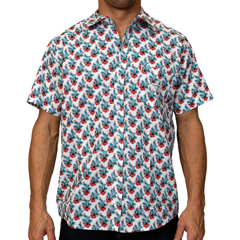 Camisa Tecido Hibiscus