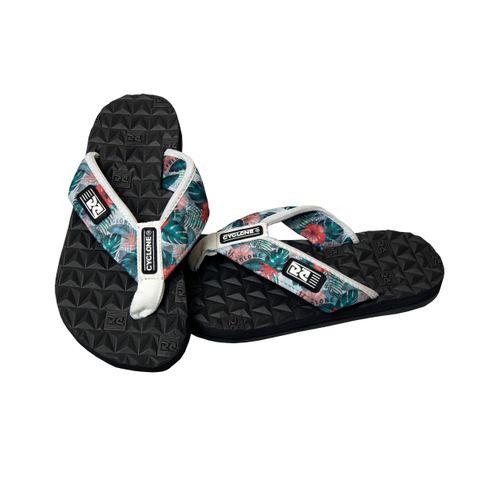 Detalhe Sandália Deck Diamond Maui Preta