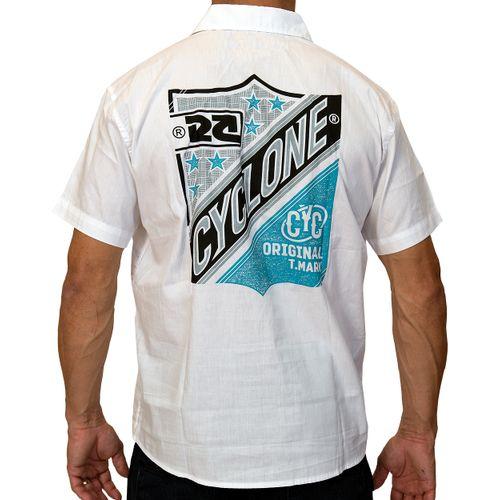 Costas Camisa Tecido Emblem