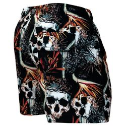 Costas Short Curto Stretch Skull Tropical