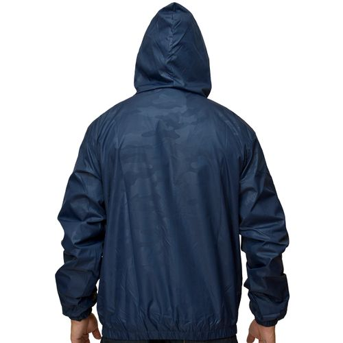 Costas Casaco Windbreak Camuflage Azul