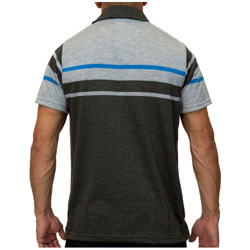 Costas Camisa Pólo Listra Maldivas Cinza Escuro