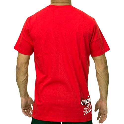 Costas Camisa Jean Relax Vermelha