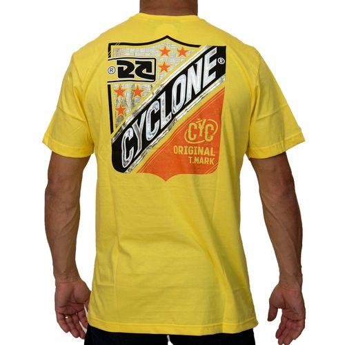 Costas Camisa Emblem Metal Amarela