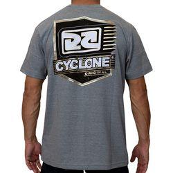 Costas Camisa Brasão Metal Cinza