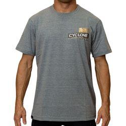 Camisa Brasão Metal Cinza