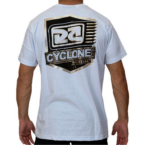 Costas Camisa Brasão Metal Branca