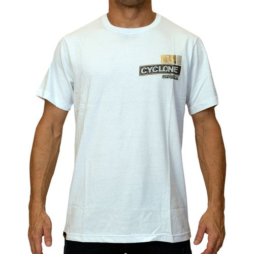 Camisa Brasão Metal Branca