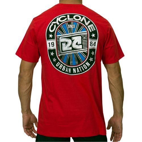Costas Camisa Urban Metal Vermelha