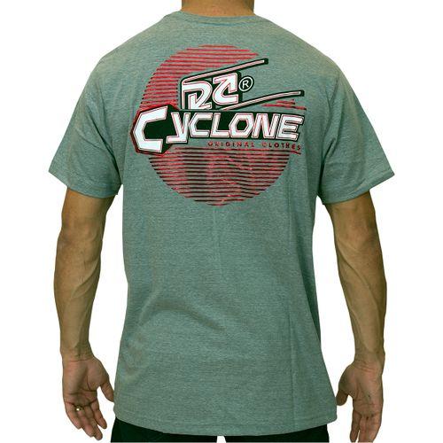 Costas Camisa Lines Metal Cinza