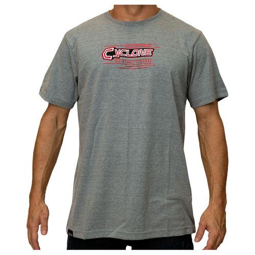 Camisa Lines Metal Cinza