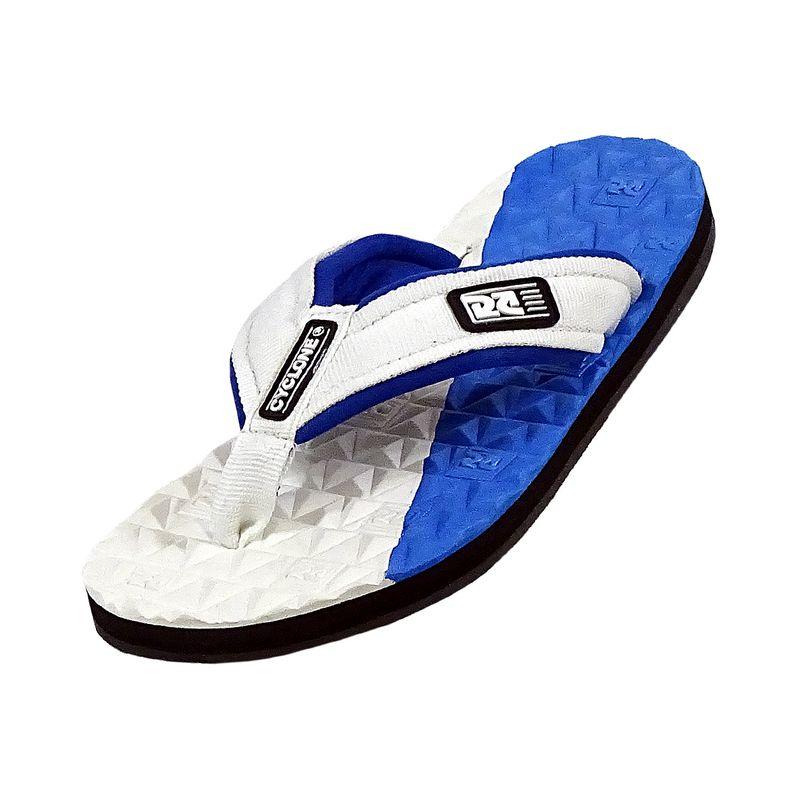 Sandália Deck Diamond Bicolor Azul