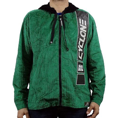 Jaqueta Veludo Listra Verde