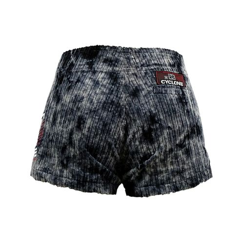 Costas Short Veludo Tie Dye Griot