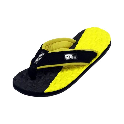 Sandália Deck Diamond Bicolor Amarelo