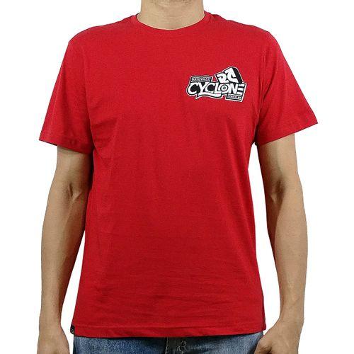 Camisa Caracol Metal Vermelha