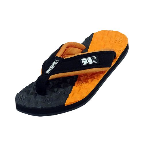 Sandália Deck Diamond Bicolor laranja