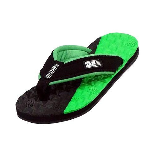 Sandália Deck Diamond Bicolor Verde