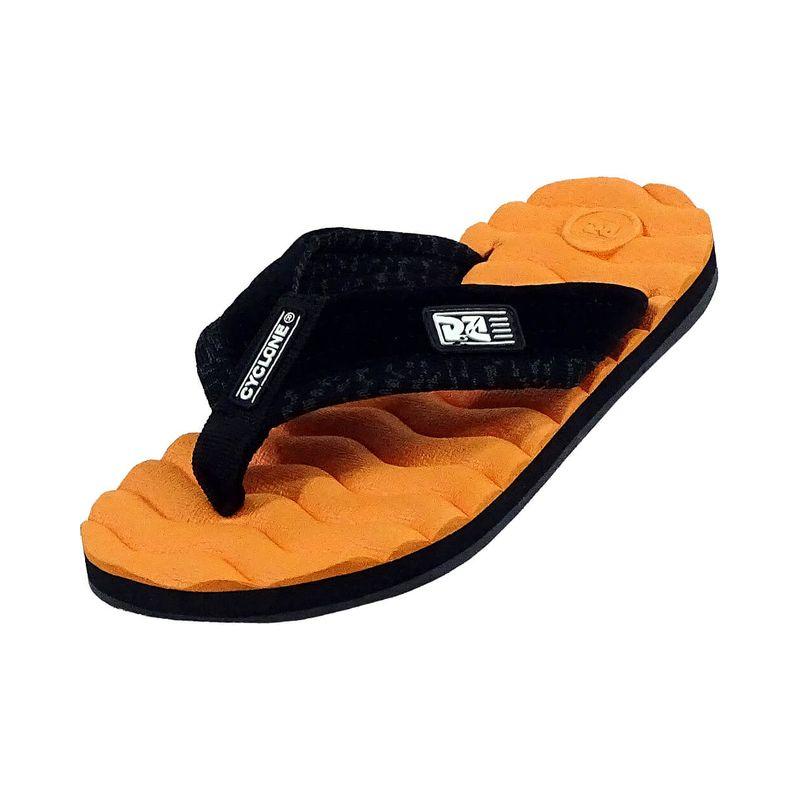 Sandália Deck Wave Laranja
