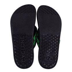 Solado Sandália Deck Diamond Green Forever Preta