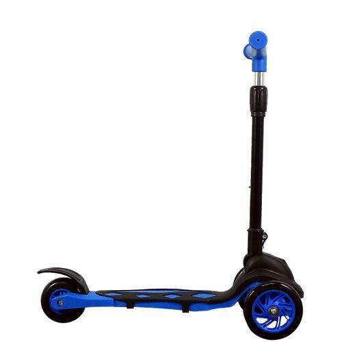 Lateral Patinete Dobrável Power Azul