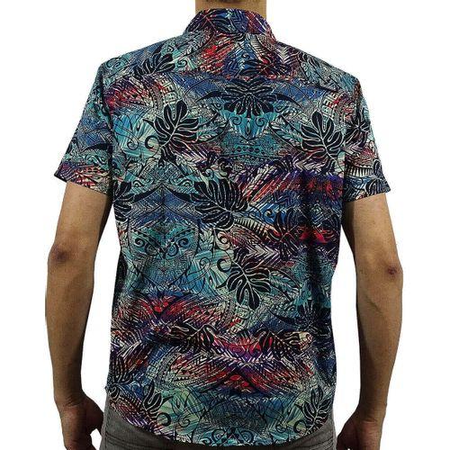 Costas Camisa Tecido Tribal