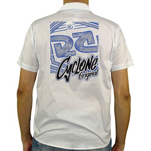 Costas Camisa Tecido Assinatura