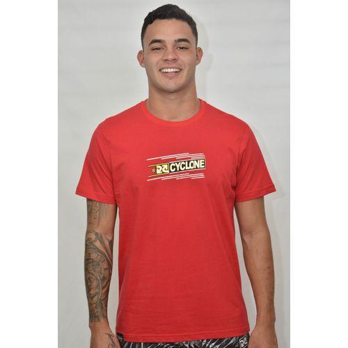 Camisa Almond Metal Vermelha