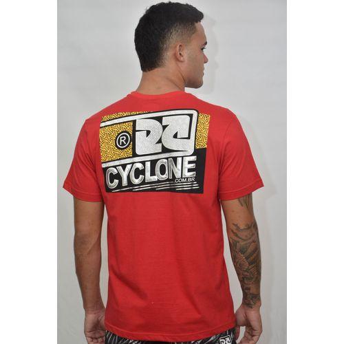 Costas Camisa Almond Metal Vermelha