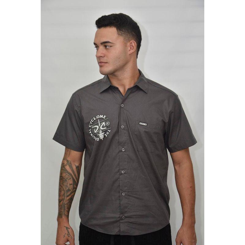 Camisa Tecido Zippo Metal