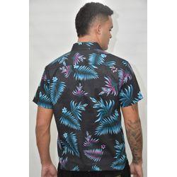 Costas Camisa Tecido Tropical Summer