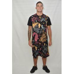 Look Camisa Oriental
