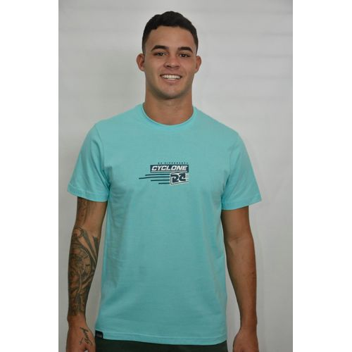 Camisa Texture Azul