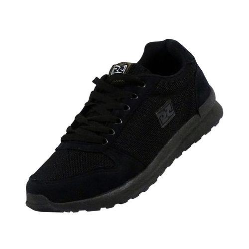 Tênis Jogger Retrô Preto Over