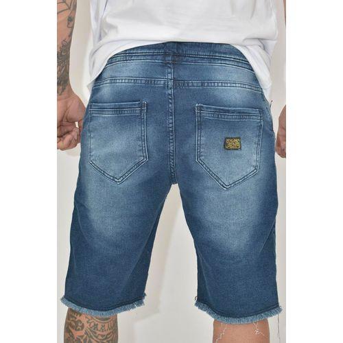 Costas Bermuda Jeans Moletom Banker