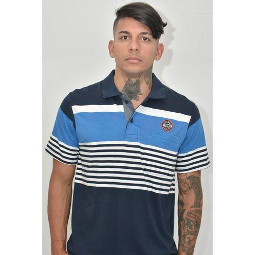 Camisa Pólo Camberra Marinho