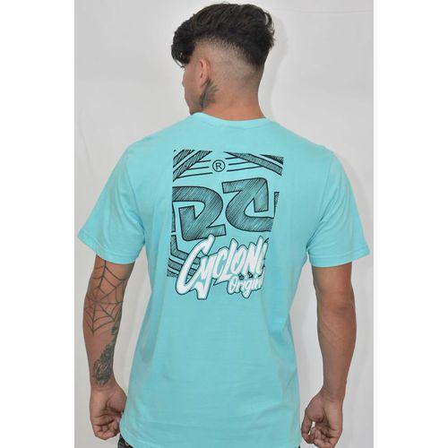 Costas Camisa Relax Assinatura Azul